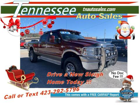 2006 Ford F-350 Super Duty for sale at Tennessee Auto Sales in Elizabethton TN