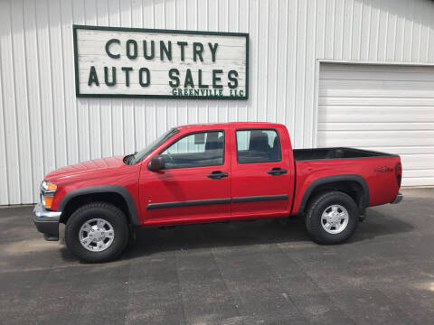 2006 Chevrolet Colorado for sale at COUNTRY AUTO SALES LLC in Greenville OH