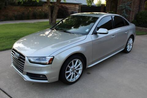 2014 Audi A4 for sale at CANTWEIGHT CLASSICS in Maysville OK