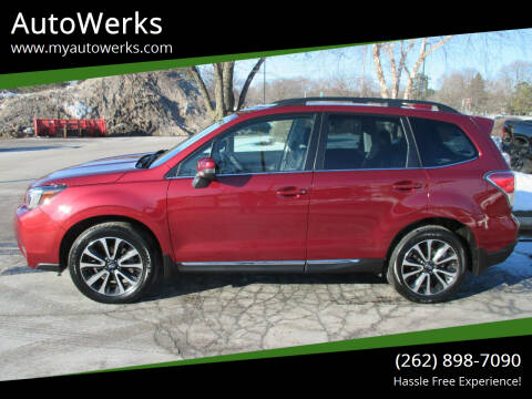 2018 Subaru Forester for sale at AutoWerks in Sturtevant WI