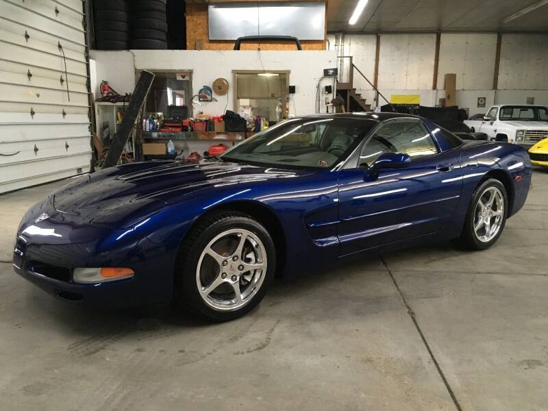 2004 Chevrolet Corvette for sale at T James Motorsports in Gibsonia PA