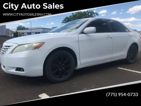 2009 Toyota Camry for sale at City Auto Sales in Sparks NV