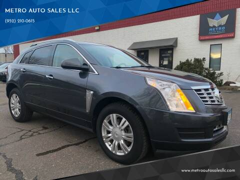 2013 Cadillac SRX for sale at METRO AUTO SALES LLC in Blaine MN