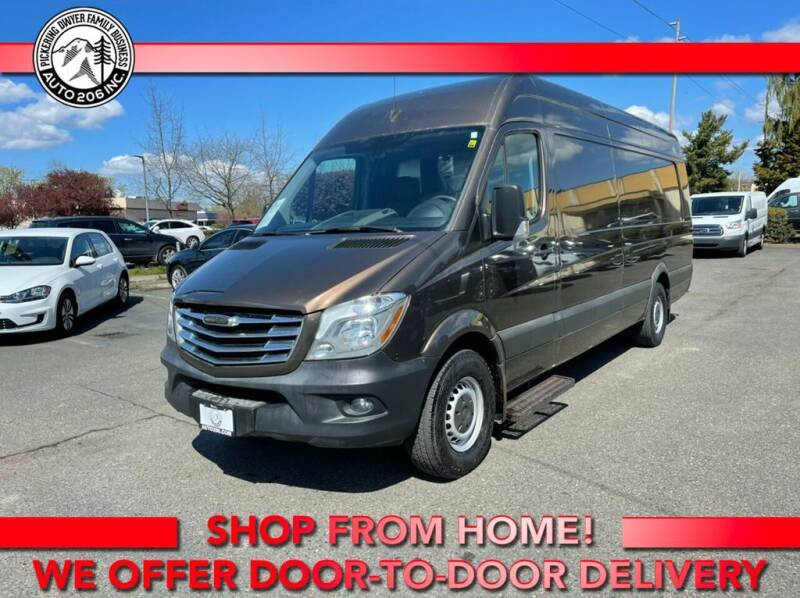 2015 Freightliner Sprinter Cargo for sale at Auto 206, Inc. in Kent WA