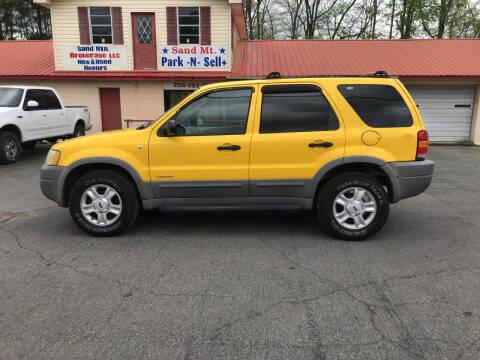 2001 Ford Escape for sale at Sand Mountain Brokerage LLC in Boaz AL