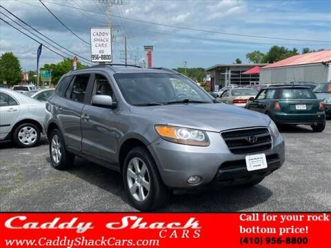 2007 Hyundai Santa Fe for sale at CADDY SHACK CARS in Edgewater MD