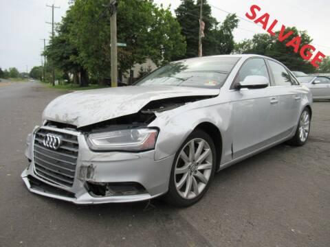 2013 Audi A4 for sale at PRESTIGE IMPORT AUTO SALES in Morrisville PA