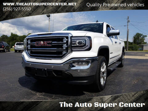 2018 GMC Sierra 1500 for sale at The Auto Super Center in Centre AL