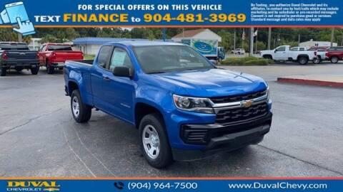 2021 Chevrolet Colorado for sale at Duval Chevrolet in Starke FL