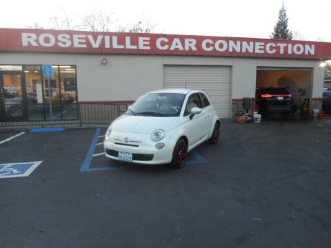 2013 FIAT 500 for sale at ROSEVILLE CAR CONNECTION in Roseville CA