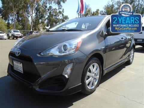 2017 Toyota Prius c for sale at Centre City Motors in Escondido CA