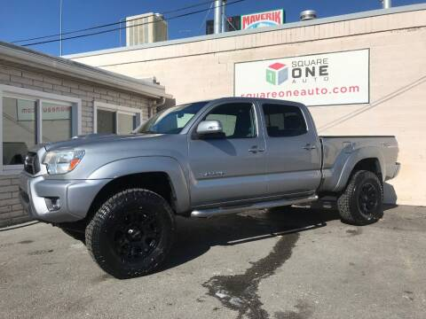 2015 Toyota Tacoma for sale at SQUARE ONE AUTO LLC in Murray UT