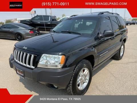 2004 Jeep Grand Cherokee for sale at SOUTHWEST AUTO GROUP-EL PASO in El Paso TX
