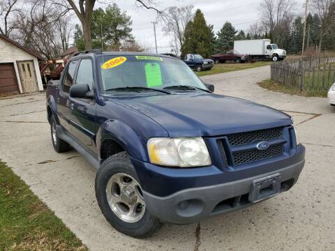 2004 Ford Explorer Sport Trac for sale at Kachar's Used Cars Inc in Monroe MI