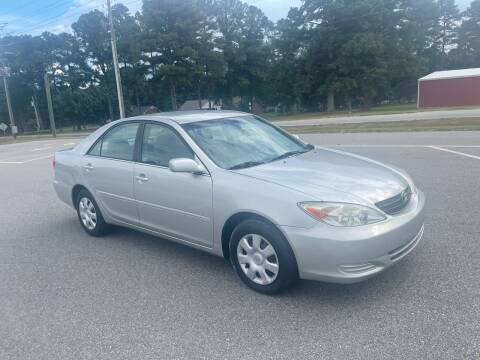 2004 Toyota Camry for sale at Carprime Outlet LLC in Angier NC