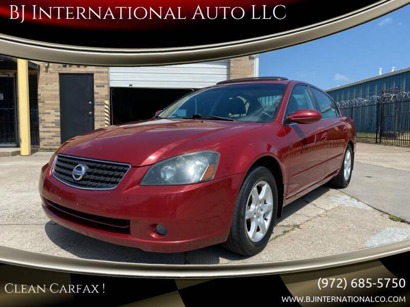 2006 Nissan Altima for sale at BJ International Auto LLC in Dallas TX