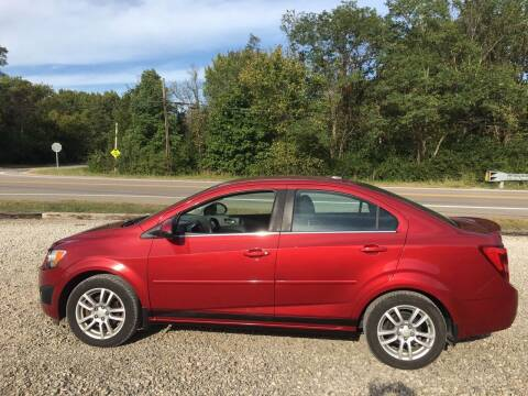 2013 Chevrolet Sonic for sale at Beechwood Motors in Somerville OH