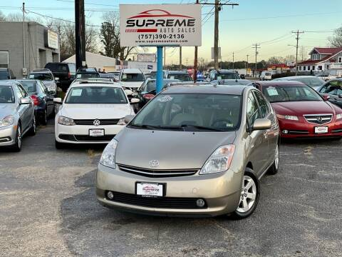 2008 Toyota Prius for sale at Supreme Auto Sales in Chesapeake VA
