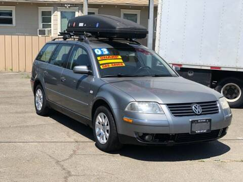 2003 Volkswagen Passat for sale at Victory Auto Sales in Stockton CA