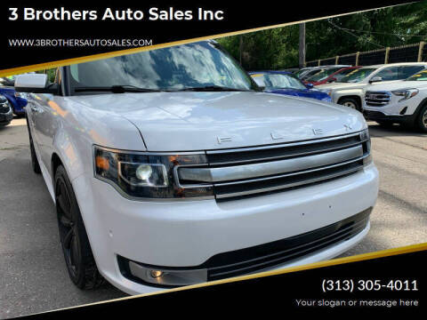 2013 Ford Flex for sale at 3 Brothers Auto Sales Inc in Detroit MI