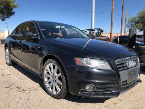 2012 Audi A4 for sale at Eastside Auto Sales in El Paso TX