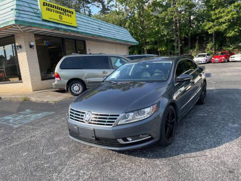2013 Volkswagen CC for sale at Diana Rico LLC in Dalton GA