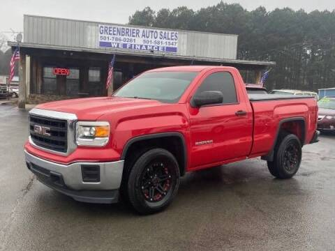 2014 GMC Sierra 1500 for sale at Greenbrier Auto Sales in Greenbrier AR