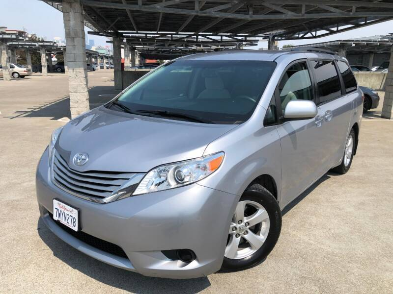 2017 Toyota Sienna for sale at CITY MOTOR SALES in San Francisco CA