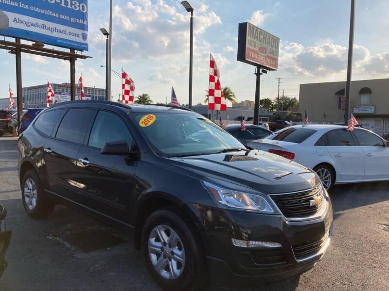 2016 Chevrolet Traverse for sale at MACHADO AUTO SALES in Miami FL