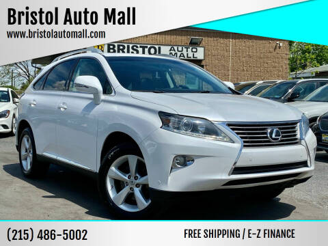 2013 Lexus RX 350 for sale at Bristol Auto Mall in Levittown PA