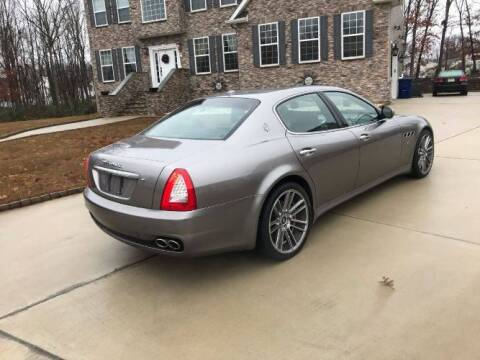 2010 Maserati Quattroporte for sale at Classic Car Deals in Cadillac MI