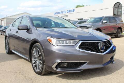 2018 Acura TLX for sale at SHAFER AUTO GROUP in Columbus OH