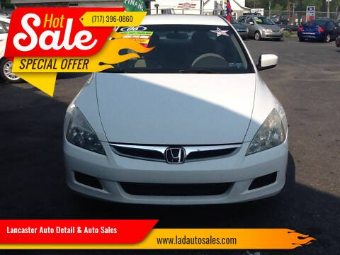 2006 Honda Accord for sale at Lancaster Auto Detail & Auto Sales in Lancaster PA