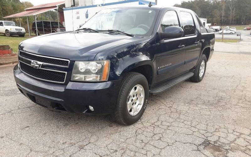 2007 Chevrolet Avalanche for sale at Mathews Used Cars, Inc. in Crawford GA
