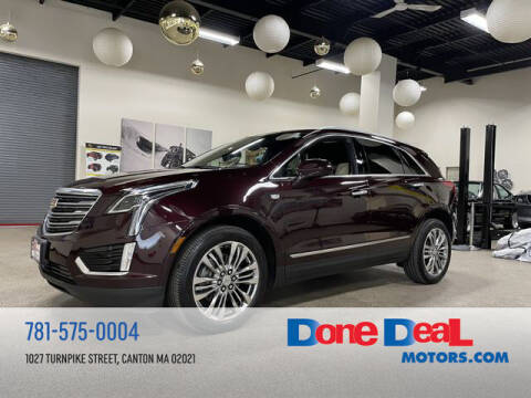 2017 Cadillac XT5 for sale at DONE DEAL MOTORS in Canton MA