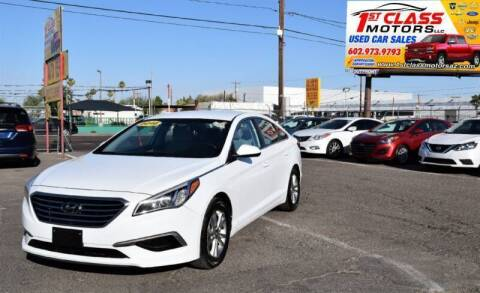 2016 Hyundai Sonata for sale at 1st Class Motors in Phoenix AZ