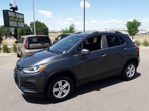2018 Chevrolet Trax for sale at More-Skinny Used Cars in Pueblo CO