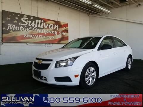 2013 Chevrolet Cruze for sale at SULLIVAN MOTOR COMPANY INC. in Mesa AZ