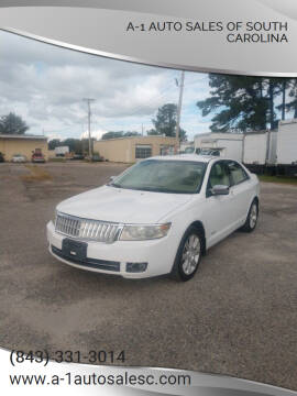 2007 Lincoln MKZ for sale at A-1 Auto Sales Of South Carolina in Conway SC