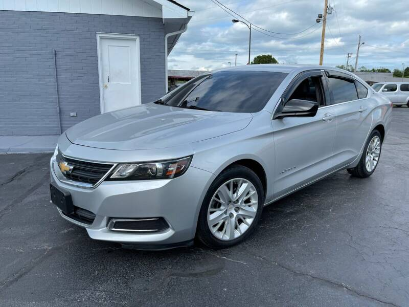 2017 Chevrolet Impala for sale at Willie Hensley in Frankfort KY