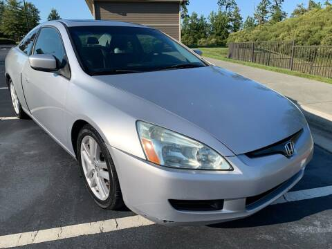 2004 Honda Accord for sale at LA 12 Motors in Durham NC