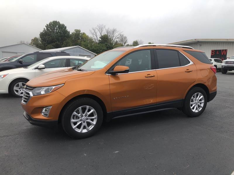 2018 Chevrolet Equinox for sale at B & W Auto in Campbellsville KY