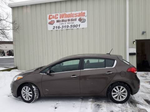 2015 Kia Forte5 for sale at C & C Wholesale in Cleveland OH