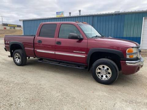 2004 GMC Sierra 2500HD for sale at Kansas Car Finder in Valley Falls KS