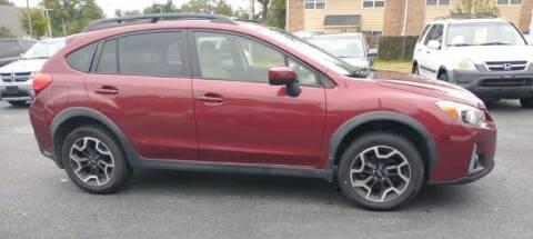 2016 Subaru Crosstrek for sale at Dad's Auto Sales in Newport News VA
