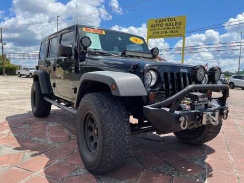 2011 Jeep Wrangler Unlimited for sale at CAPITOL AUTO SALES LLC in Baton Rouge LA