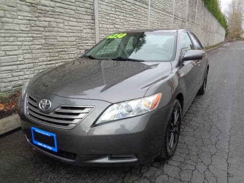 2007 Toyota Camry Hybrid for sale at Matthews Motors LLC in Algona WA