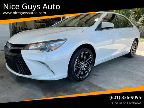2016 Toyota Camry for sale at Nice Guys Auto in Hattiesburg MS