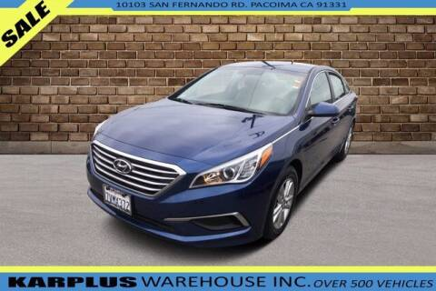 2017 Hyundai Sonata for sale at Karplus Warehouse in Pacoima CA