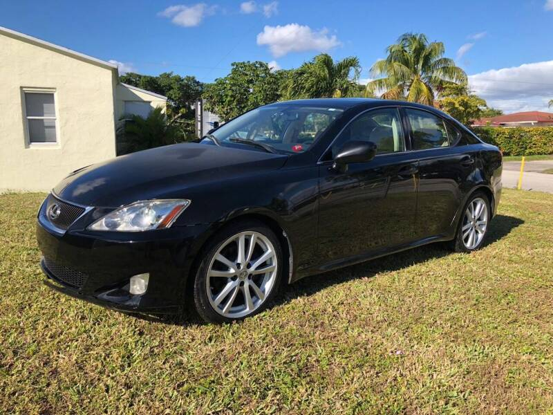 2006 Lexus IS 250 for sale at Hard Rock Motors in Hollywood FL